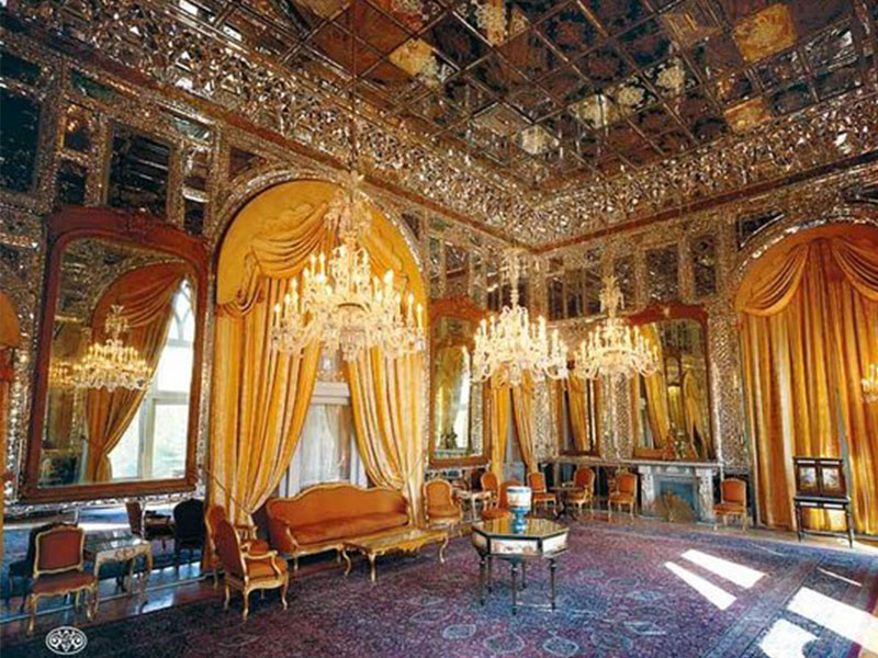 Golestan Palace in Tehran Province