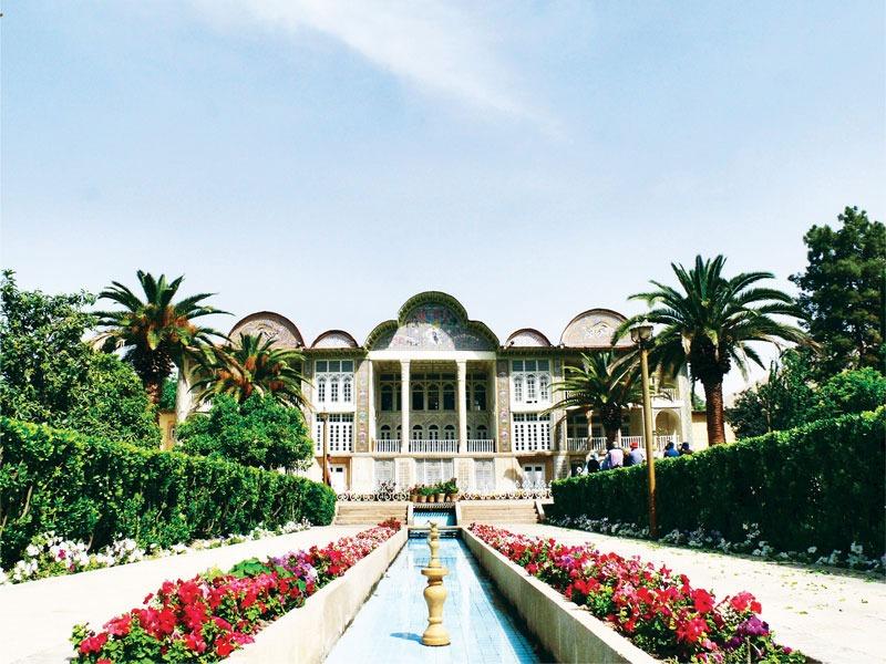 Iranian Garden in Fars, Mazandaran, Isfahan, Kerman, Yazd and Khorasan provinces