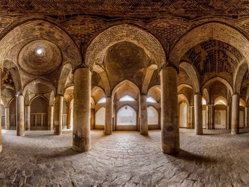 Jameh Mosque in Isfahan province