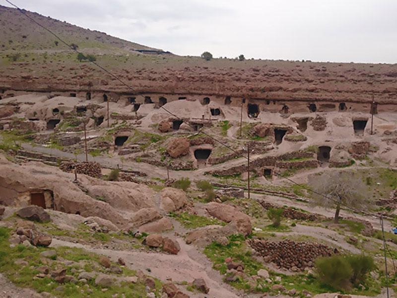 Maymand village in Kerman province