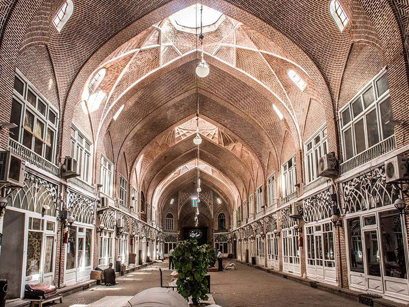 Tabriz Historical bazaar in East Azarbaijan Province