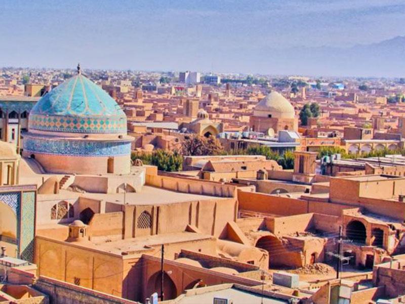 Yazd Historical City in Yazd Province
