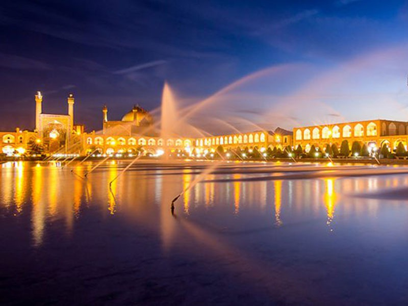 Naghshe Jahan Square in Isfahan province