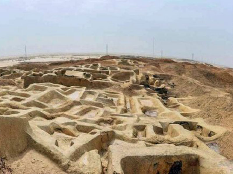 Burnt City in Sistan and Baluchistan Province