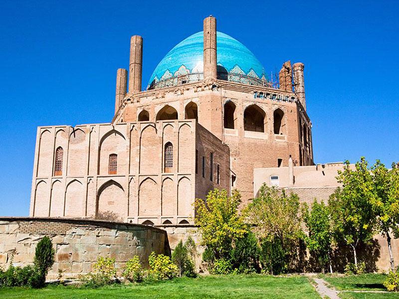 Soltanieh Dome in Zanjan Province